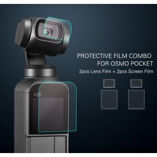 Dji Osmo Pocket Fiberglass Protective Film Camera Lens