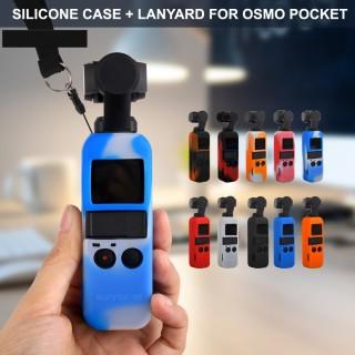 Dji Osmo Pocket Silicon Protective Cover Extra Neck Strap