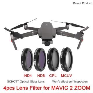 DJI Mavic 2 Zoom filter 4 pcs Lens Camera