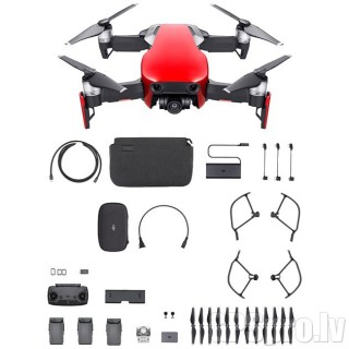 DJI MAVIC AIR COMBO FLAME RED