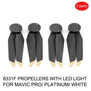 dji mavic propeller led