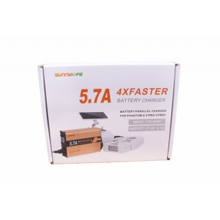DJI Phantom 4 4PRO 4PRO+ Charger 4in1 Battery Charger 5.7A Big Current