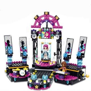 LEGO/ BELA Friends 10406 Pop Star Show Stage isi 448pcs / Lego