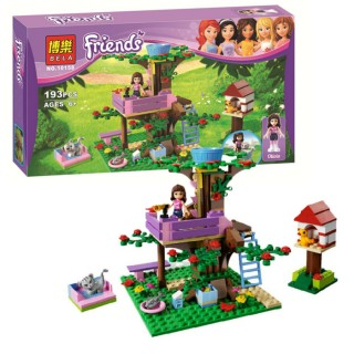 LEGO / BLOCK Bela Friends 10158 / Olivia's Tree House / Lego