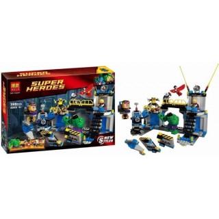LEGO / BELA 10241 Super Heroes New Style S Hulk Lab Smash