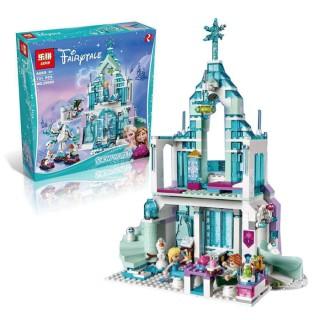 LEGO / LEPIN 25002 731pcs Snow World The Elsa`s Magical Ice Castle Set