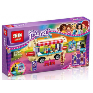 LEGO / BRICK LEPIN 01007 Friends / Amusement Park Hot Dog Van