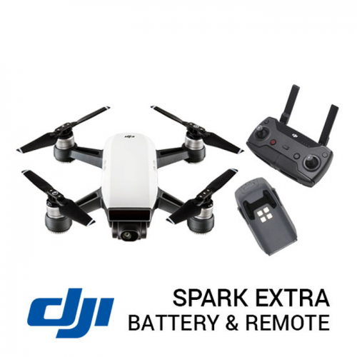 DJI SPARK BASIC EXTRA BATTERY & REMOTE - NEW