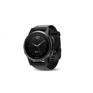 Garmin Fenix 5s Sapphire with black band