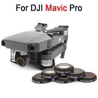 DJI MAVIC FILTER COMPLETE SET ( CPL, MCUV, ND4, ND8, ND16, ND32 )
