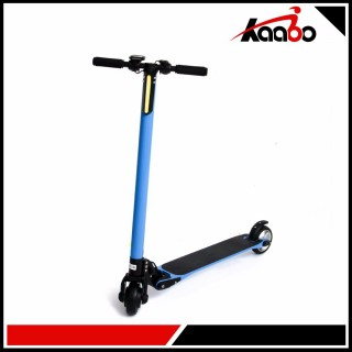 SKUTER / SCOOTER CARBON FIBER ELECTRIC (BLUE)