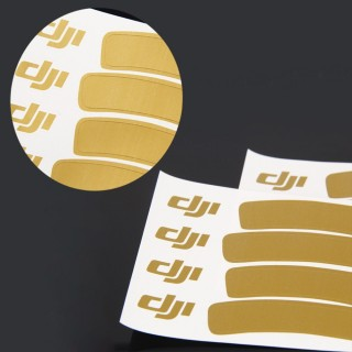 DJI PHANTOM 3 ACCESORICE GOLDEN DECAL/STICKER