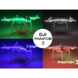 DJI PHANTOM 3/4 LED STRIP MULTICOLOR NIGHT LIGHT