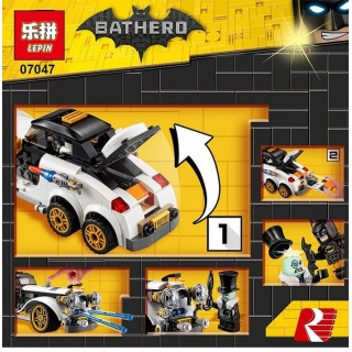 LEGO / LEPIN 07047 Mobil Batman Movie Bathero The Batman Classic Car