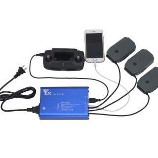 DJI MAVIC Multi Charger Battery 5 in 1