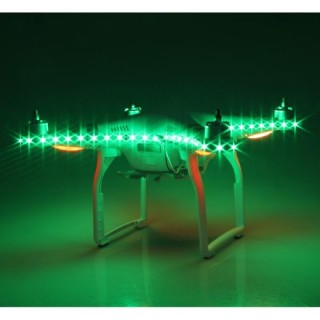 DJI PHANTOM 3 / 4 LED STRIP GREEN COLOR NIGHT LIGHT