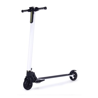 SKUTER / SCOOTER CARBON FIBER ELECTRIC WHITE