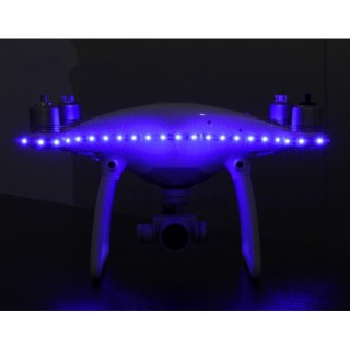 DJI PHANTOM 3 / 4 LED STRIP BLUE COLOR NIGHT LIGHT