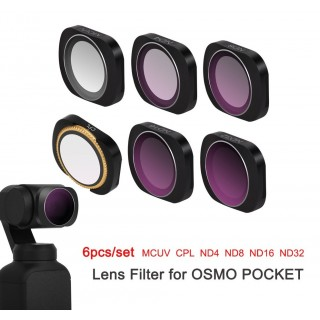 Dji Osmo Pocket Filter Set 6 Pcs