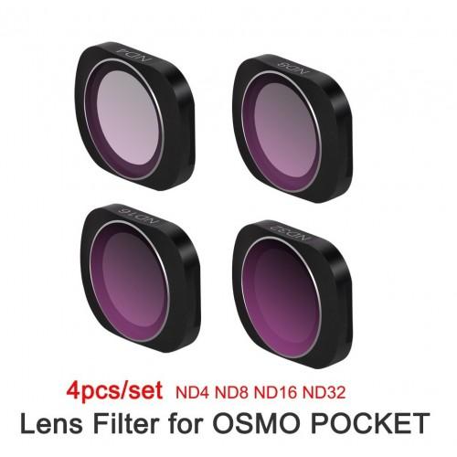 Dji Osmo Pocket Filter Set 4 Pcs