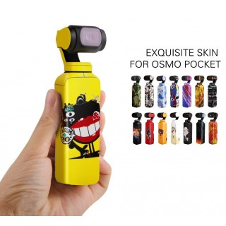 Dji Osmo Pocket Stiker - Dji Osmo Pocket Sticker Motif