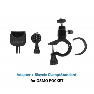 Dji Osmo Pocket Adapter and Bicycle Clamp Bike Mount