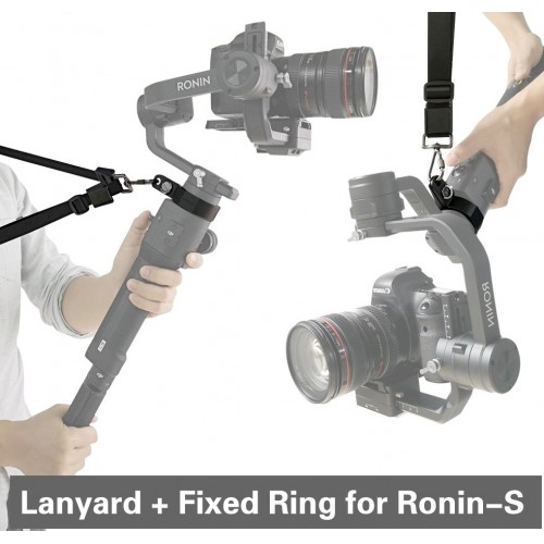 Dji Ronin S Fixed Ring Sling Neck Strap Belt Lanyard
