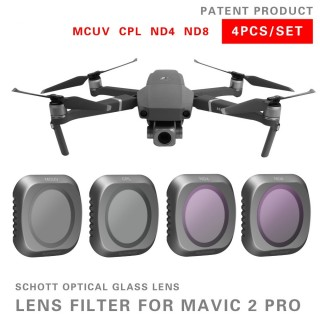 DJI Mavic 2 Pro Filter 4 pcs Camera Lens