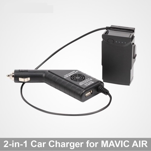 Dji Mavic Air Car Charger 2in1