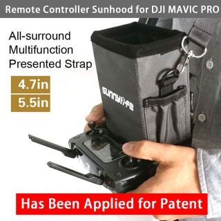 DJI SPARK - MAVIC 2 - MAVIC AIR Remote Controller Sunhood with Strap