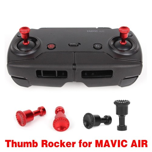 dji mavic air remote joysticks aluminum