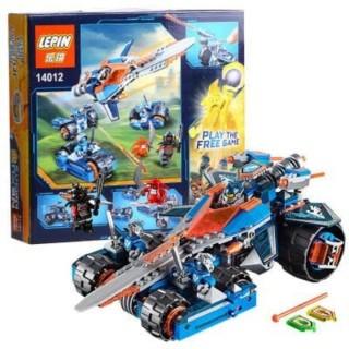 LEGO / LEPIN 14012 Clay's Rumble Blade Nexo Knights 392 pcs / Lego
