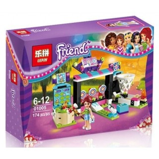 LEGO / LEPIN 01005 Friends 174pcs Machine Shooting Amusement Park