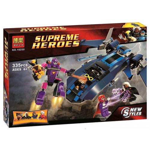 LEGO / BELA 10250 Supreme Heroes X Men vs The Sentinel