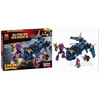 LEGO / BELA 10250 Supreme Heroes X Men vs The Sentinel