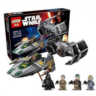 LEGO / LEPIN 05030 Vader Advance vs A Fighter STAR WARS Series