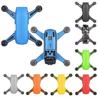 DJI SPARK Waterproof PVC Carbon Graphic Stickers