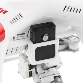 DJI PHANTOM 3 GPS Tracker Black Box Locator Audio Video