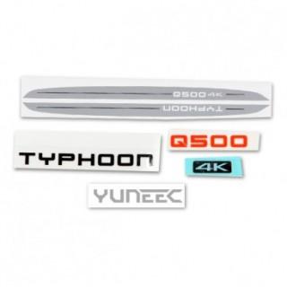 Yuneec Decal Set Q500 4K
