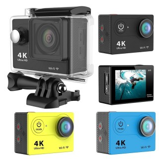 ACTION CAMERA 4K WIFI + REMOTE + FREE BATTERAI