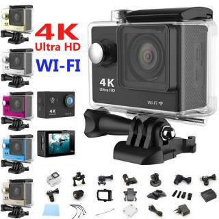 ACTION CAMERA 4K WIFI + REMOTE + FREE BATTERAI !