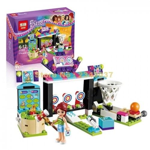 LEGO / LEPIN 01005 Friends 174pcs Machine Shooting Amusement Park