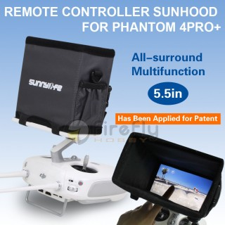 DJI PHANTOM 4 PRO + Sun Hood For Remote