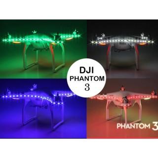 DJI PHANTOM 3/4 LED STRIP MULTICOLOR NIGHT LIGHT