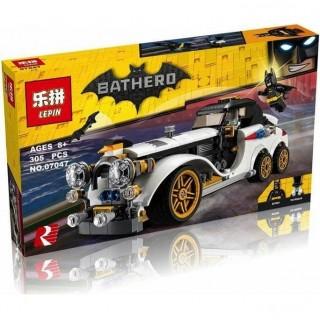 LEGO / LEPIN 07047 Mobil Batman Movie Bathero The Batman Classic Car