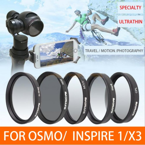 DJI INSPIRE 1 / OSMO ( ZENMUSE X3 ) LENS FILTER ND 4