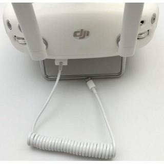 DJI PHANTOM 3 / 4 INSPIRE 1 , ELASTIC DATA CABLE IPHONE