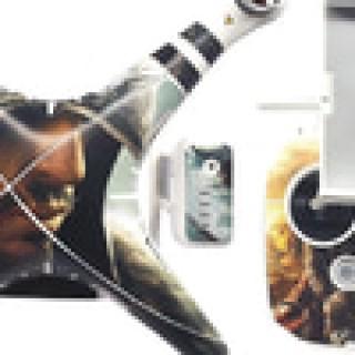 DJI PHANTOM 3 STICKERS,SKIN GRAPHIC COVER SET